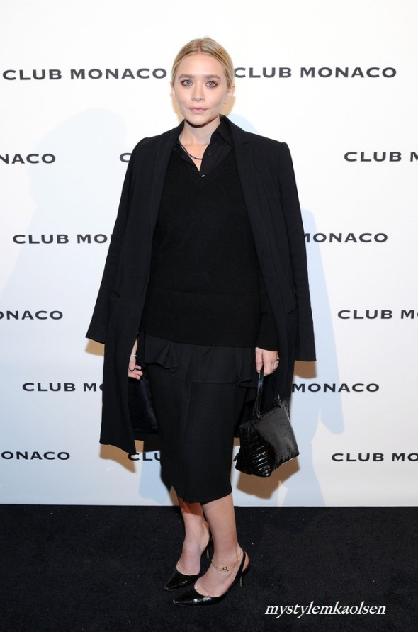Ashley Olsen - Club Monaco's Fifth Avenue Flagship Opening Celebration, 2013