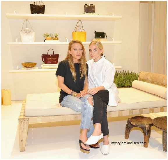 Ashley Olsen and Mary-Kate Olsen Open Elizabeth and James Flagship at The Grove in Los Angeles, CA